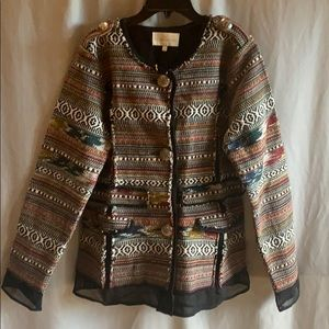 Southwestern Patterned Jacket
